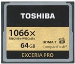 Toshiba Exceria Pro (64GB) Compact Flash Card