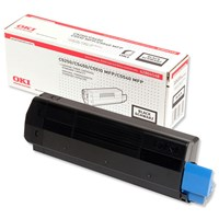 OKI Standard Capacity Toner Cartridge (Black) for C5250/C5450/C5510 MFP/C5540 MFP Printers (Yield 3,000 Pages)