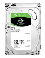 Seagate BarraCuda (3TB) 3.5 inch Hard Disk Drive (7200rpm) SATA 6Gb/s 64MB (Internal)