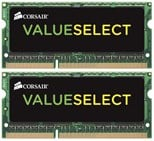 4GB Corsair Value Select 800MHz DDR2 SODIMM Dual Channel Memory Kit