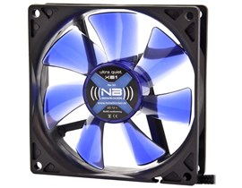Noiseblocker BlackSilent Fan XE1 - 92mm