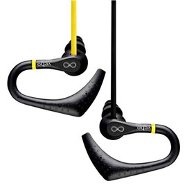 Veho ZS-2 Water Resistant Sports Earphones - Yellow/Black