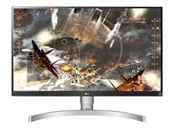 LG 27UK650-W 27 inch LED IPS Monitor - 3840 x 2160, 5ms, HDMI