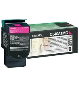 Lexmark Magenta Return Program Toner Cartridge (Yield 1000 Pages) for C540n/C543dn/C544dn/C544dtn/C544dw/C544n Colour Laser Printers