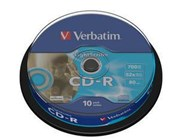 Verbatim CD-R 700MB 52x LightScribe 10 Pack