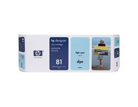 HP 81 Light Cyan Ink Cartridge (680ml) for the 5000 and 5000PS