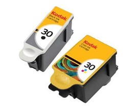Kodak 30 (Yield: 335 Black/390 Colour Pages) Black/Cyan/Magenta/Yellow Ink Cartridge Pack of 2