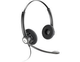 Plantronics Entera HW121N/A Over-the-Head Stereo Headset with Noise-Cancelling Microphone *Open Box*