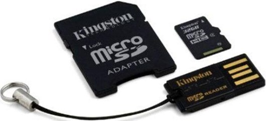 Kingston Mobility/Multi Kit 32GB Class 10