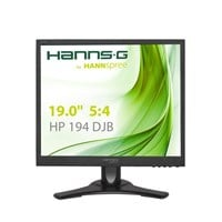 Hannspree HP194DJB 19 inch LED Monitor - 1280 x 1024, 5ms, Speakers
