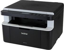 Brother DCP-1512 (A4) Mono Laser Multifunction Printer (Print/Copy/Scan) 16MB Memory 20ppm 10,000 (MDC)