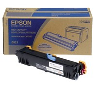 Epson 0521 High Capacity Toner Cartridge (Yield 3,200 Pages) Black for Epson M1200 Monochrome Laser Printer