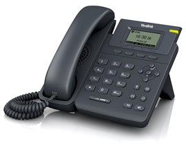 Yealink SIP-T19PN Entry Level IP Phone 1-Line Power Over Ethernet (PoE) (Black)