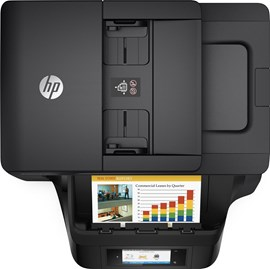 HP OfficeJet Pro 8725 (A4) Colour Inkjet Wireless All-in-One Printer (Print/Copy/Scan/Fax) 256MB 4.3 inch Colour LCD 24ppm (Mono) 20ppm (Colour) 30,000 (MDC) Black