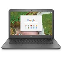 HP Chromebook 14 G5 (14 inch) Notebook PC Celeron (N3450) 1.1GHz 8GB 64GB WLAN BT Webcam Chrome OS (HD Graphics 500)