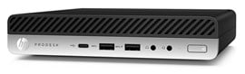 HP ProDesk 600 G3 Desktop Mini PC Core i5 (7500T) 2.7GHz 8GB 256GB SSD WLAN BT Windows 10 Pro 64-bit (HD Graphics 630)