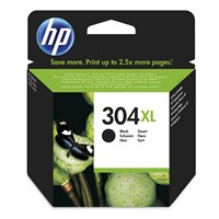 HP 304XL (Yield 300 Pages) Black Original Ink Cartridge *Open Box*