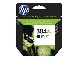 HP 304XL (Yield 300 Pages) Black Original Ink Cartridge