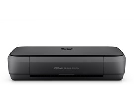 HP OfficeJet 250 (A4) Colour Mobile All-in-One Printer (Print/Copy/Scan) 256MB 2.65 inch Colour LCD 10ppm (Mono) ISO 9ppm (Colour) ISO 500 (MDC)