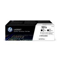 HP 201X (Yield: 2,800 Pages) High Yield Original LaserJet Toner Cartridge (Black) Dual Pack