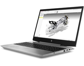 HP ZBook 15v G5 (15.6 inch) Mobile Workstation Core i7+ (8750H) 2.2GHz 8GB 256GB SSD WLAN Windows 10 Pro (Quadro P600 2GB)