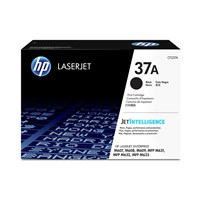 HP 37A (Yield: 11,000 Pages) Original LaserJet Black Toner Cartridge