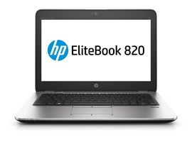 HP EliteBook 820 G3 (12.5 inch) Notebook PC Core i5 (6300U) 2.4GHz 8GB 500GB WLAN BT Webcam Windows 10 Pro (HD Graphics 520)