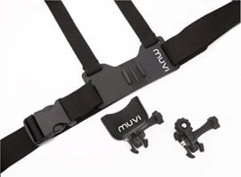 Veho VCC-A016-HSM Chest Harness Mount for Muvi and Muvi HD, Inc Tripod Mount