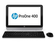 HP ProOne 400 G1 (19.5 inch) All-in-One PC Pentium (G3220T) 2.6GHz 4GB 500GB DVD Writer SuperMulti WLAN BT Windows 7 Pro 64-bit+Media Upgrade to Windows 8.1 Pro 64-bit (HD Graphics)