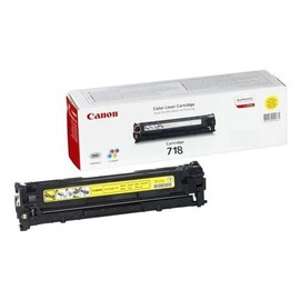 Canon 718 (Yield: 2,900 Pages) Yellow Toner Cartridge
