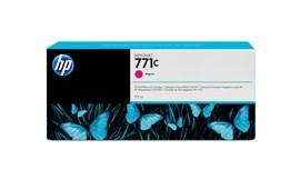 HP 771C (775ml) Magenta Ink Cartridge for Deisgnjet Z6200 1067mm/Z6200 1524mm Photo Printers