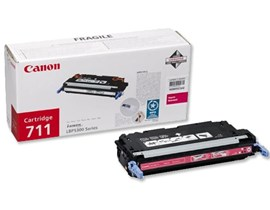 Canon 711 (Yield: 6,000 Pages) Magenta Toner Cartridge
