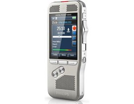 Philips Pocket Memo DPM 8300 Dictation Machine Slide-Switch Operation (Silver)