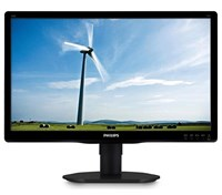 Philips 200S4LYMB 20 inch LED Monitor - 1600 x 900, 5ms, Speakers