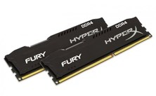 HyperX FURY Black 8GB (2x 4GB) 2133MHz DDR4 RAM