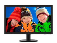 Philips 243V5LHSB 23.6 inch LED 1ms Monitor - Full HD, 1ms, HDMI