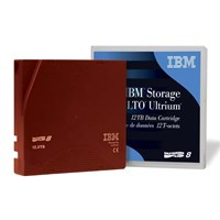 IBM LTO Ultrium 8 Rewritable Data Cartridge 12TB Native/30TB Compressed (Brown)