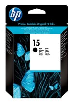 HP 15 Light Use Black Ink Print Cartridge
