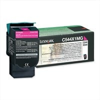 Lexmark Return Program Magenta (Extra High Yield: 4,000 Pages) Toner Cartridge for C544, X544 Colour Laser Printers