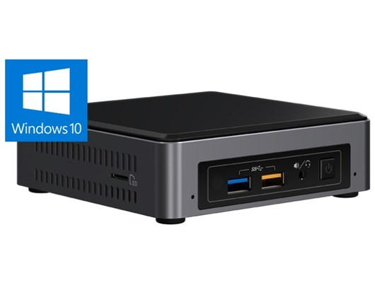 Intel NUC Kit NUC7i7BNKQ Small Form Factor PC Core i7 (7567U) 4.0GHz 16GB 512GB Windows 10 Home (Intel HD Graphics)