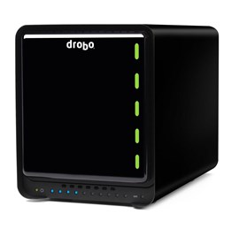 Drobo 5N 5 Bay NAS Storage Array with 10TB (5 x 2TB) WD Red Hard Disk Drives