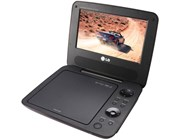 LG DP650 7 inch Portable DVD Player