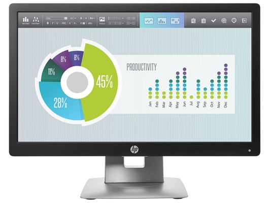 "HP E202 20"" HD+ LED IPS Monitor"