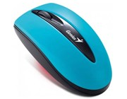 Genius Traveler 7000 2.4GHz Wireless Notebook Optical Mouse (Sky Blue)