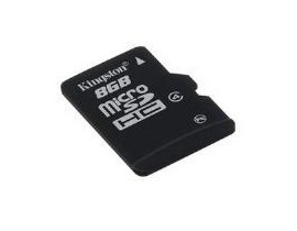 Kingston   8GB Class 4 microSD Card