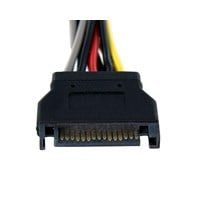 StarTech.com SATA Power Y Splitter Cable Adaptor (0.1m)