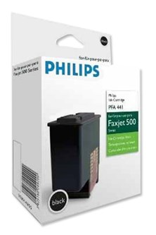 Philips PFA441/000 (Yield: 500 Pages) Black Ink Cartridge