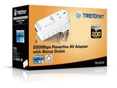 TRENDnet TPL-307E 200Mbps Powerline AV Adaptor