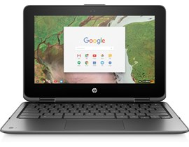 "HP x360 11 G1 EE 11.6"" Touch  Celeron Chromebook"