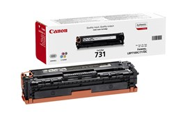 Canon 731 (Yield: 1,500 Pages) Cyan Toner Cartridge